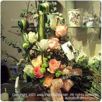 ร้านดอกไม้ ธนบุรี,พวงหรีด ธนบุรี